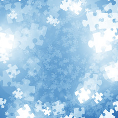 Random jigsaw pieces