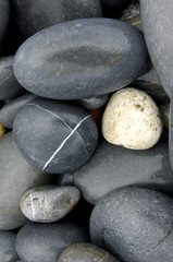 Tropical pebble stones great as a background