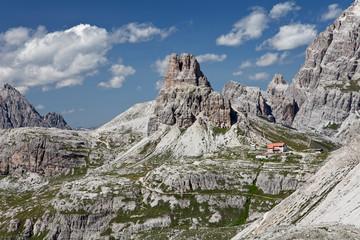 Berge in Dolomiten