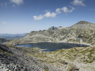 Alpine lake in the Italian Alps,Adamello Park