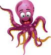 Cute octopus - 44279594