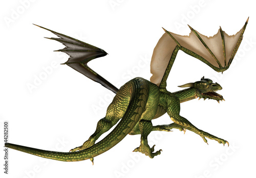 Deurstickers Draken Fantasy Dragon