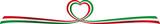 Banner nastro italia - love italy banner