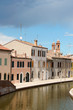 Glimpse of Comacchio, Italy