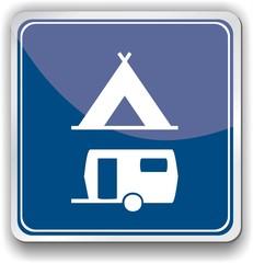 panneau camping
