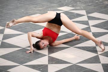 Ballerina, eserczio fisico