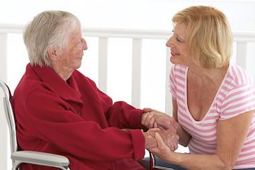 Personne âgée - Dialogue