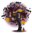 Tree of Horror (Halloween) ---by vector
