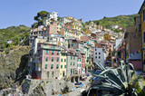 The colourful village of Riomaggiore
