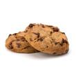 Chocolate homemade pastry cookies