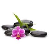 Zen pebbles path. Spa and healthcare concept.