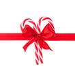 Cristmas gift ribbon and bow