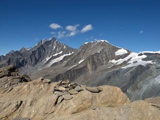 High Mountains Named Taschhorn ( 4490 m )  And Alphubel
