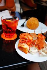 Happy Spritz con arancino a Palermo