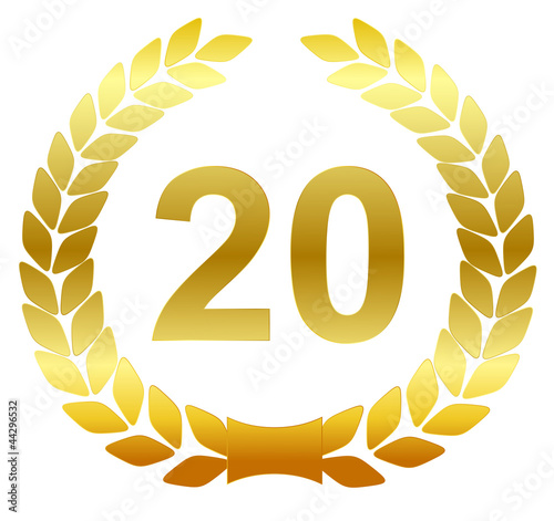 Laurel wreath - 20