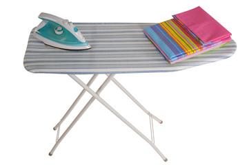 Ironing board. Isolated