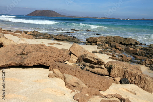 Corralejo  nature reserve in Fuerteventura Canary islands Spain