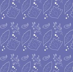 Pattern seamless bird