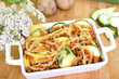 Zucchini-Kartoffel-Hackfleisch Auflauf