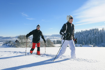 Winterwanderung im Westallgäu