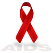 aids red ribbon