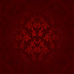 Dark and light red seamless wallpaper background pattern design
