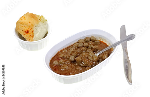 Spoon Chick Peas Gravy