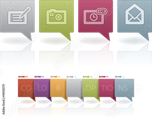 Old-fashion Phone Icons Status Icons