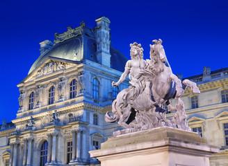 Louis XIV monument.