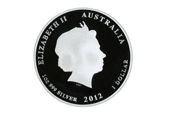 Australian silver dollar