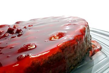 Strawberry Pie close-up