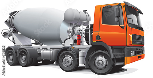 large concrete mixer - 44311322