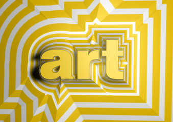 art abstract background text