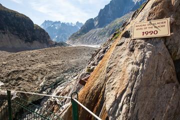Scoglimento dei ghiacciai e surriscaldamento pianeta