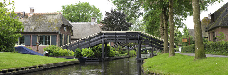 footbridge over canal