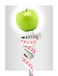 Alimentation minceur - pomme