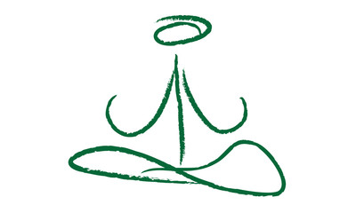 Yoga logo simple