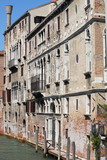 Urban scenic of Venice poster