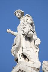 Angel statue in Santa Maria della Salute Cathedral