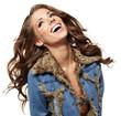 Smiling american girl