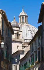 Alleyway. Montefiascone. Lazio.  Italy.