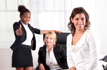 Erfolgreiche Frauen im Team