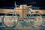 Vintage old bicycle