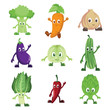 Vegetables characters