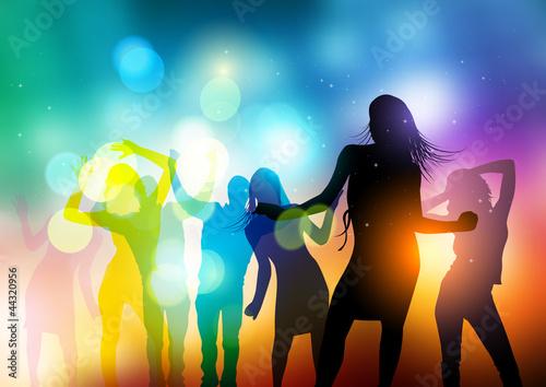 Ludzie tańczą wektor