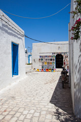 Typical tunisian pottery shop - Tunisia