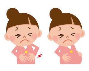 陣痛 腹痛 女性