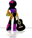 Ragazza con chitarra