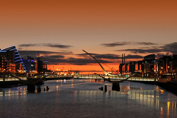 Sunrise On The River Liffey