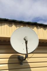 The satellite aerial